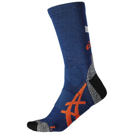 asics Winter Running Socks Poseidon/Koi